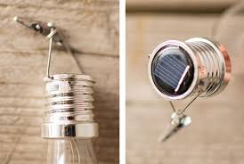 solar pendant light glass bulb with lights 5 5 in warm white