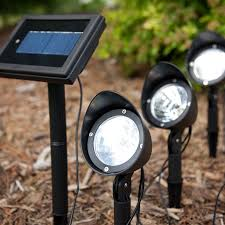 Captivating Outdoor Solar Spot Lights A Lighting Ideas graphy