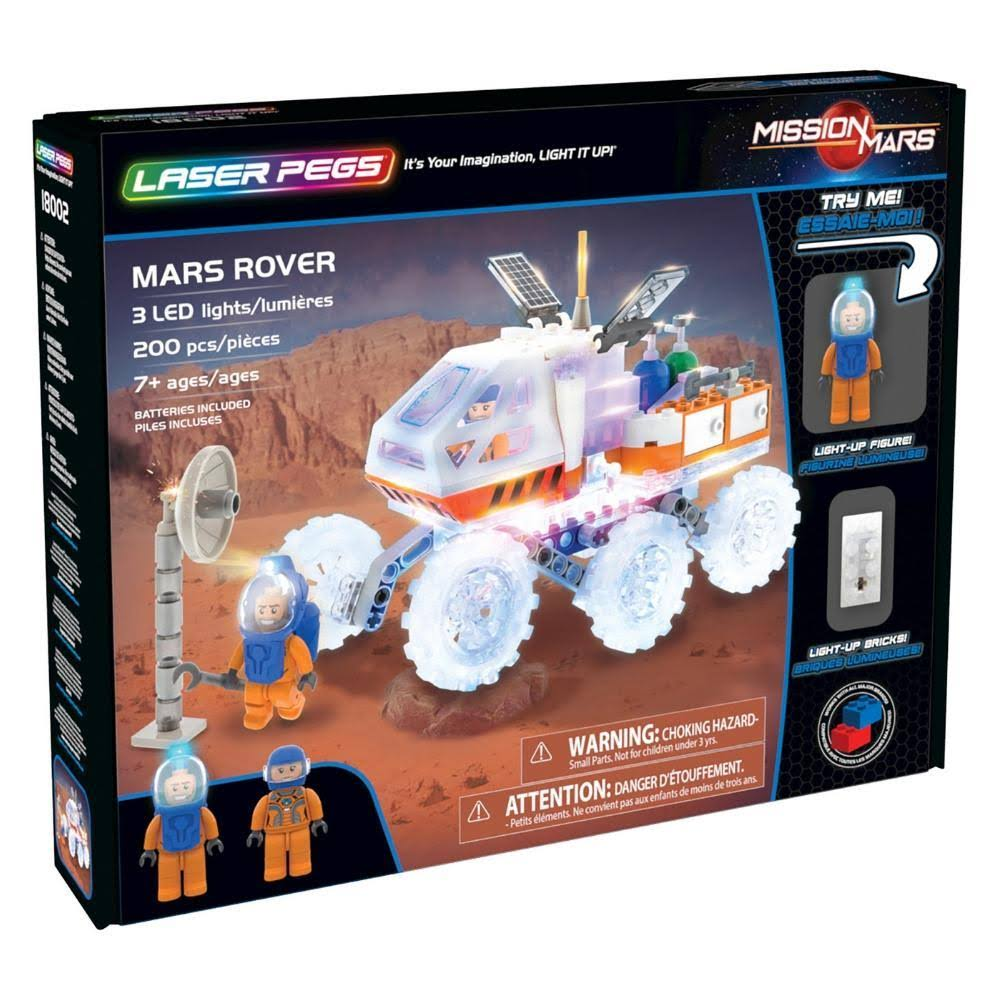Laser Pegs Mission Mars Building Toyset - Mars Rover