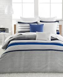 Lacoste Home Auckland Blue forter Sets Bedding Collections