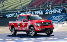2013 Ford F-150 FX4 Will Pace Quicken Loans 400 NASCAR Race At ... Diadon Enterprises Photos The Baddest Ford Fseries Trucks Of Official Truck The Nfl Youtube File2015 F150 Pickup Truckjpg Wikimedia Commons Now Celebrating Toughest Wrecking F Series Tractor Parts Americas Best Selling For 40 Years Built 52018 Borderline Center Racing Stripe W Outline Ftrucks Launches 2015 Superduty Range A Brief History Autonxt Trucks 2007 150 Harley Davidson Front 2010 Super Duty Nceptcarzcom Monaco Is A Glastonbury Dealer And New Car Used