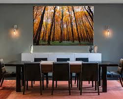 1 Piece Canvas Wall Autumn Scenery Art Dining Room Pictures Large