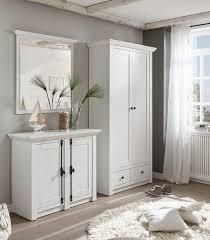 home affaire garderoben set california set 3 tlg set aus garderobenschrank spiegel und kommode kaufen otto