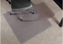 Desk Chair Mat For Carpet by Office Chair Carpet Mat Modern Looks Realspace Economy Chair Mat