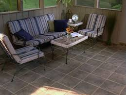 Patio Floor Lighting Ideas by Custom Idea For Tile In The Porch Floor And Wall Charming A
