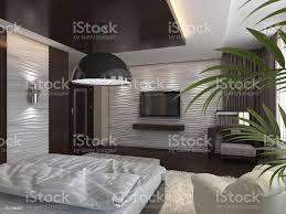 schlafzimmer in einem privaten haus in braun und beigetönen stockfoto und mehr bilder 2015