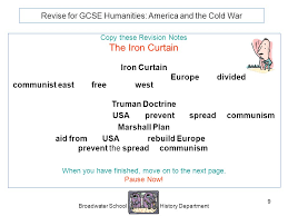 Iron Curtain Speech Apush Definition by Who Coined The Term Iron Curtain Quizlet 100 Images 100 Iron
