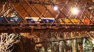 Thomas Kinkade Christmas Tree Wonderland Express by Chicago Botanic Garden Wonderland Express 2013 High Train Bridges