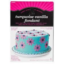 Wilton Decorator Preferred Fondant Gluten Free by Turquoise 24 Ounces Colored Vanilla Fondant Hobby Lobby 150648