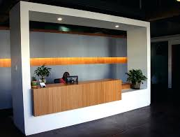 Front Desk Design Elevate Your Office Reception With Amber Grain Bamboo Hotel Uniform