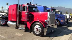 100 Martinez Trucking Son Transportation 1985 Peterbilt 359 And Trailer At TFK 2014