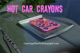 3 Hot Car Crayons