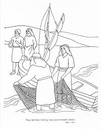 Twelve Apostles Coloring Page Of Jesus View Larger