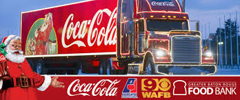 See The Coca-Cola Santa Truck And Help The Greater Baton Rouge Food Bank