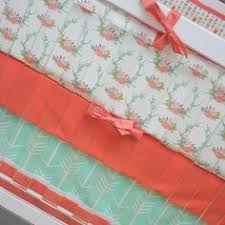 feather arrow crib bedding woodland nursery bedding set