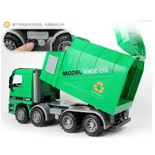 Big Size Jumbo Kid's Large Man Side Loading Garbage Truck W/ 3 ...