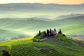 Wallpaper Tuscany Landscape Italy 4K World 4986