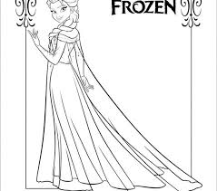 Frozen Coloring Book Free Download Printable Pages For Kids