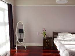 grey purple bedroom
