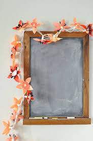 Free Diy Flower Garland Handmade Decorations With How To Make Photo Frames Paper Step By