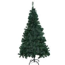 Goplus 8 Artificial Christmas Tree Spruce Hinged W Metal Stand For Indoor And Outdoor