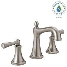 Delta Windemere Bathroom Faucet by Delta Windemere Brushed Nickel Bathroom Faucet Best Faucets