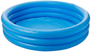 IIT Tool 59416 Intex Crystal Blue Inflatable Kiddie Pool 45 X 10