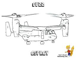 Osprey Cv22 Helicopter Colouring At YesColoring