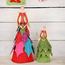 Fiber Optic Christmas Tree Philippines by Christmas Fairy Angel Felt Tree Topper By Red Berry Apple