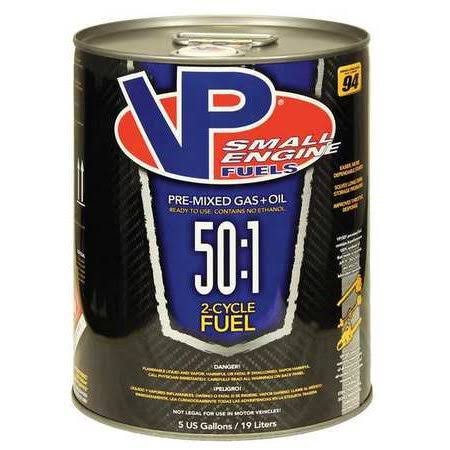 VP Small Engine Fuels 6232 Small Engine Fuel, 2 Cycle, 5 gal.