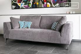 canap cosy grand canapé scandinave canapé déhoussable dakota pib