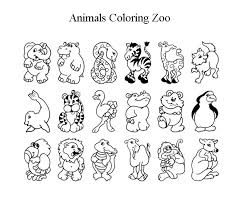 Coloring Pages Animals Zoo Pictures For Share Online