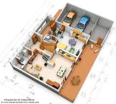 plan de maison 3d maison françois fabie