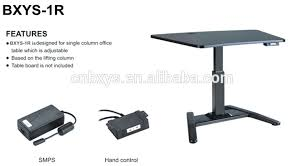 desk motorized adjustable height table legs adjustable table