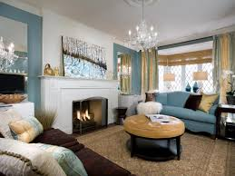 Living Room With Fireplace In Corner by Over The Fireplace Ideas