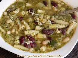 recette cuisine gourmande soupe au pistou cuisine gourmande de carmencita