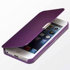 housse coque etui smart cover cuir pu flip magnétique iphone 4 4s