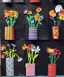 DIY Great Project For Teachers To Do In Art Class Kids At Home With Parents Or Grandparents Mothers Day Any Cut Paper Relief Sculptures