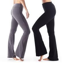 Boot Cut And Flared Yoga Pants
