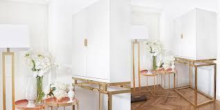 favourite stylische hochschrank weiß gold instashop