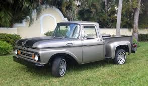 100 Oldride Classic Trucks 1962 Ford F100 Photo Picture