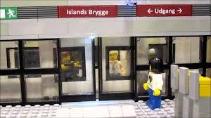 LEGO Mindstorms Metro Station with Sliding Doors