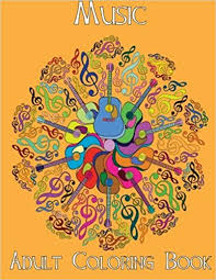 Adult Coloring Books Music Volume 4 Beth Ingrias 9781514305300 Amazon