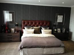 Masculine Bed Frames Modern Bedroom Designs For Men Wall Padding