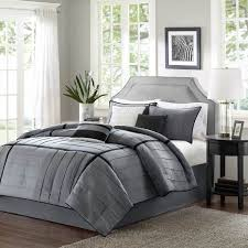 shop madison park bridgeport modern grey bed covers the home