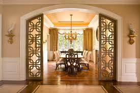Super Door Room Ideas Classic Dining With Ornate Shaped Decoration And