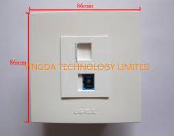 de fibre optique ignifuge de câble du réseau rj45 sc de panneau
