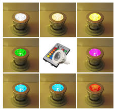 110v 3w rgb color changing gu10 led bulb gu10 spotlight torchstar