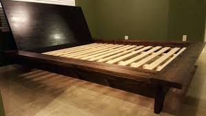King Platform Bed With Headboard by Platform Bed With Low Headboardmost Seen Images In The Awesome Low