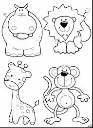 Printable Animal Coloring Pages Pdf With Astonishing Animals For